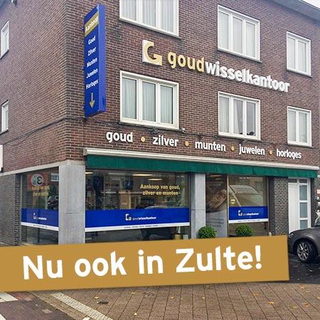 In Zulte opent het 20e Goudwisselkantoor van België