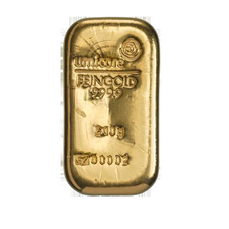 Goudstaaf 500 gram