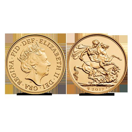 Gouden Britse Sovereign