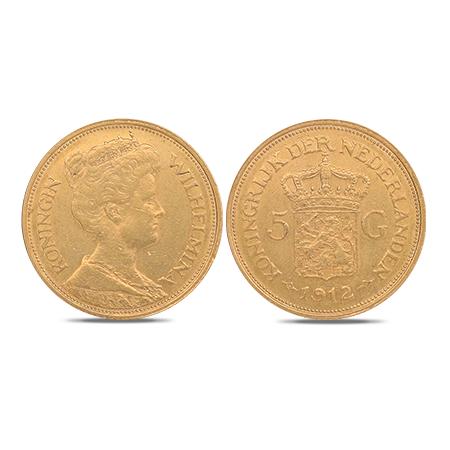 Gouden vijf gulden Nederland