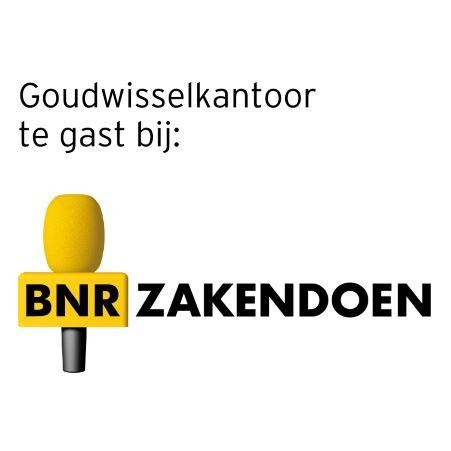 Goudwisselkantoor bij BNR nieuwsradio