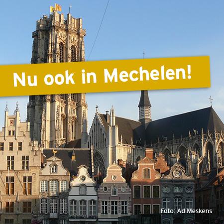 Nieuw Goudwisselkantoor in Mechelen (BE)