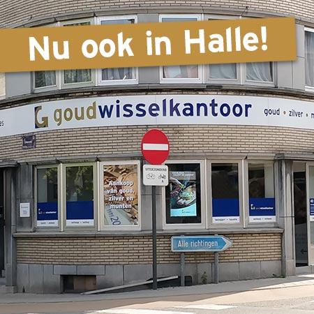 Nieuw Goudwisselkantoor in Halle