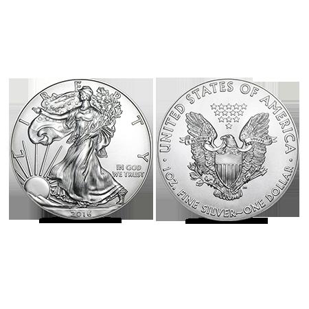 American Eagle zilver 1 OZ