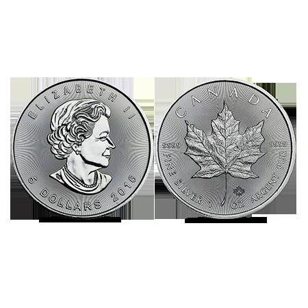 Maple Leaf zilver 1 OZ