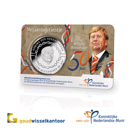 Goudwisselkantoor officieel distributiepunt van Koninklijke Nederlandse Munt
