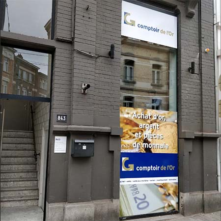Goud verkopen in Brussel