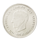 Zilveren Belgische frank