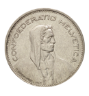 Zilveren Zwitserse frank